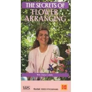 Secrets of Flower Arranging [VHS] Zsuzsa Cziraky Movies