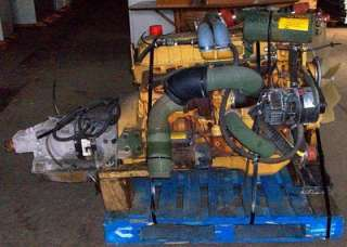 Caterpillar 3116 6.6L Turbo Diesel Engine w/ AT1545P Allison Auto