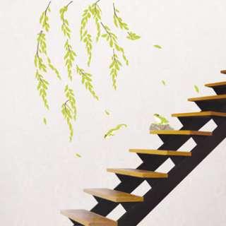 WALL DECALS VINYL ART MURAL STICKERS WILLOW FROG #319