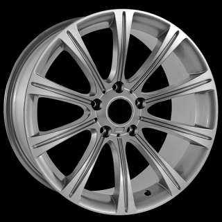18 silver wheels fit BMW 3 5 7 series 330 550 750 rims