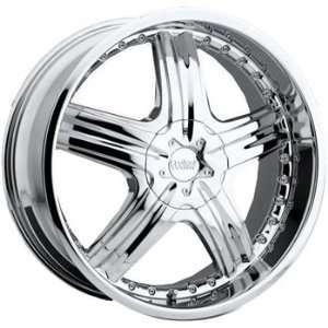 Cruiser Alloy Genesis 24x9.5 Chrome Wheel / Rim 6x132 & 6x5.5 with a
