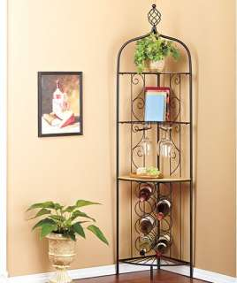 New Rolling Wood Bar Wine Bottle and Glass Cabinet Holder Rack Drawer