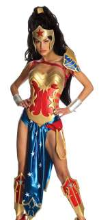 Ame Comi Anime Wonder Woman Cosplay Halloween Costume