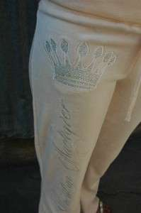 Christian Audigier Divine Crown Velour Hoody & Pants M
