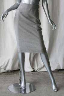 RALPH LAUREN COLLECTION Grey Pencil Skirt PURPLE LABEL