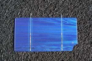 50 3X6 .5V BROKEN solar panel cells preTab with chip