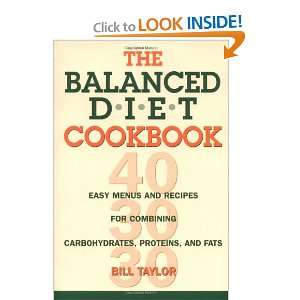 The Balanced Diet Cookbook: Easy Menus and Recipes for