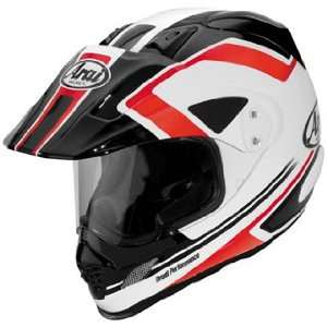 Full Face Motorcycle Riding Race Helmet  Adventure Red Automotive