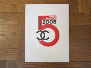 CHANEL PARIS MOSCOW 2009 CATALOG karl lagerfeld handbag purse cashmere