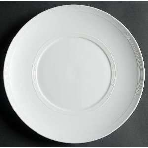 Wolfgang Puck Brasserie White Dinner Plate, Fine China Dinnerware