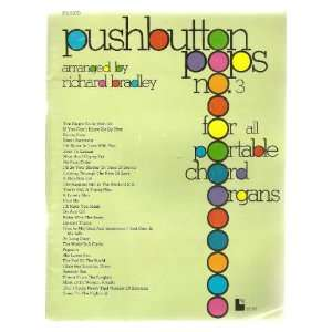 Pushbutton Pops No. 3 for Portable Chord Organs. (Sheet Music Book