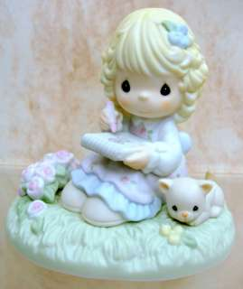 PRECIOUS MOMENTS Best Friend Blocks Baby Dolls Porcelain 524018