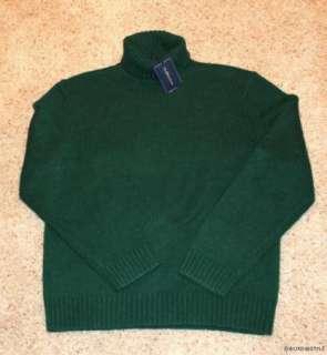 NWT $595 Polo Ralph Lauren Cashmere Turtleneck Sweater XL