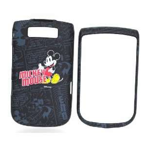 Disney Mickey Mouse Black Comic Strip Snap on Cell Phone