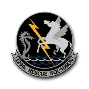 US Air Force 129th Rescue Squadron Decal Sticker 5.5