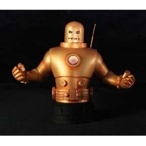 Giant Studios Iron Man Mark II (Gold Armor) Mini Bust Toys & Games