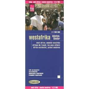 Africa West: Coastal Countries 1:2,200,000 Travel Map, GPS