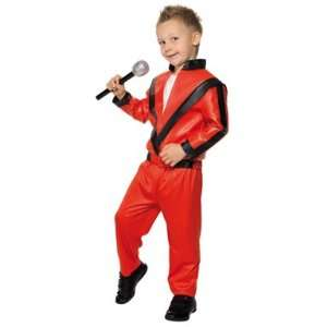 Kids Michael Jackson Thriller Costume Size Medium Toys