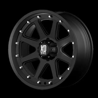 XD ADDICT 798 18 X 9 FORD CHEVY DODGE RAM JEEP WHEELS