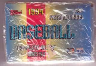 1994 Topps BASEBALL Factory Sealed HOBBY Set (1 817)
