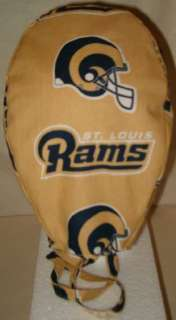 SURGICAL SCRUB HAT CAP MADE W ST. LOUIS RAMS NFL FABRIC