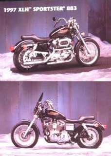 1997 Harley Davidson XLH Sportster 883 Color Brochure