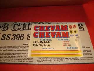 AMT 1968 Chevy Chevelle Ht. Unb. Model Car Kit