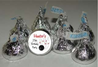 BOWLING Candy Wrappers Party Favors Kiss Labels SPORTS