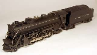 JO Lionel Pre War 2 6 2 Locomotive #1666 w/ Tender #2266W (whistle