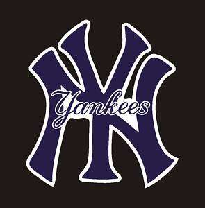 New York Yankees MLB Vinyl Sticker Decal 5x5.5 #9a