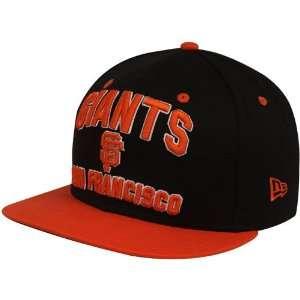 Orange Pay Dirt Flat Bill Snapback Adjustable Hat