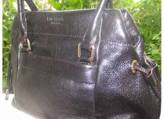 NEW Kate Spade Black Leather Westbury Bess Bag Tote NWT
