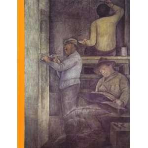 Entre andamio y muros: Ayudantes de Diego Rivera en su