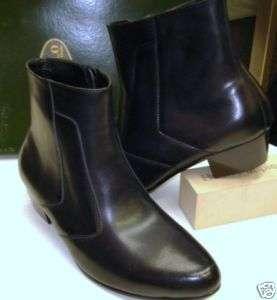 ITALO mens boot BLACK color CUBAN heel US sz 12