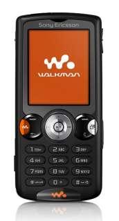 NEW SONY ERICSSON W810i RADIO  BLACK MOBILE PHONE