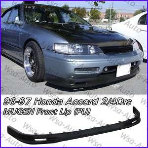 96 97 Honda Accord MUGEN JDM Front Bumper Lip PU Coupe