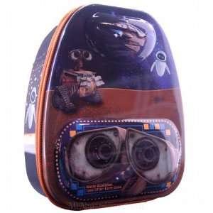 Disney Pixar Wall e Backpack Style Metal Tin Lunch Box