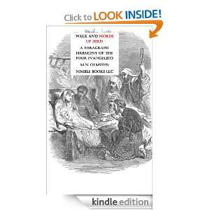 Walk and Words of Jesus M. N. Olmsted  Kindle Store