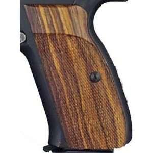 Hogue CZ 75/CZ 85 Grips P9, Coco Bolo Checkered: Sports