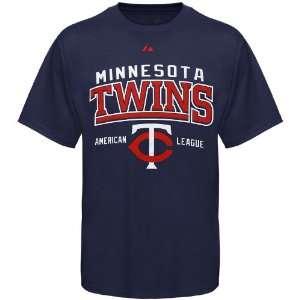 Twins Navy Blue Built Legacy T shirt (Medium)