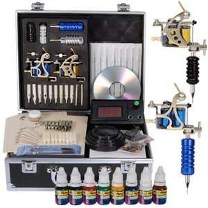 Hot Swank Mania Transformers 2 Guns Tattoo Tattooing Machine Kit Set