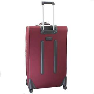ROCKLAND POLO EQUIPMENT 3 PC LUGGAGE SET BURGUNDY $480