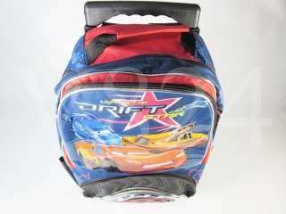 Disney PIXAR CARS 16 Roller Backpack Rolling Bag 38709