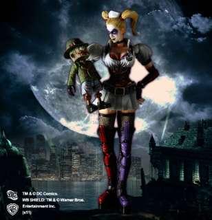 Square Enix Final Play Arts Batman Arkham Asylum Harley Quinn Figure