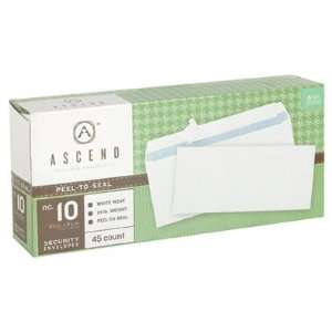 Ascend #10 Business Envelopes, 30% Recycled, Peel N Seal