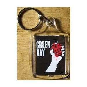 Brand New Green Day American Idiot Keychain / Keyring