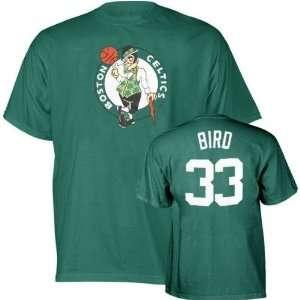 Larry Bird Boston Celtics NBA Green Player T Shirt  Sports