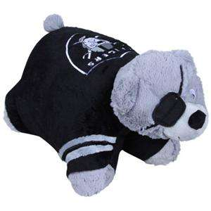 Oakland Raiders Kids Mascot Pillow Pet Oakland Raiders Logo and Colors
