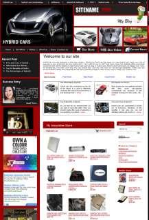 money making Hybrid Car Store  affliate Websites for sale