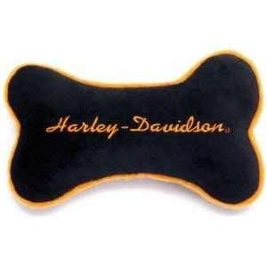 C Harley Davidson Plush Toy   orange Bone Kitchen
